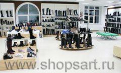 Торговое оборудование магазина обуви Банана Шуз этаж 2 ГЛАМУР Фото 25