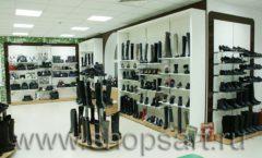 Торговое оборудование магазина обуви Банана Шуз этаж 2 ГЛАМУР Фото 26