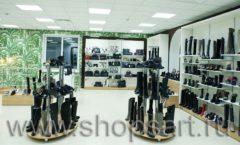 Торговое оборудование магазина обуви Банана Шуз этаж 2 ГЛАМУР Фото 27