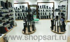 Торговое оборудование магазина обуви Банана Шуз этаж 2 ГЛАМУР Фото 28