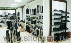 Торговое оборудование магазина обуви Банана Шуз этаж 2 ГЛАМУР Фото 29