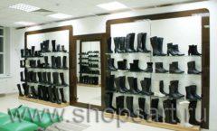 Торговое оборудование магазина обуви Банана Шуз этаж 2 ГЛАМУР Фото 30