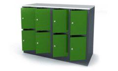 Шкаф для сумок зеленый оборудование для магазинов ШКАФЫ ДЛЯ СУМОК