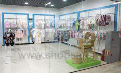 Торговое оборудование детского магазина Ивбеби Москва ТЦ Улей РАДУГА Фото 04