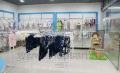 Торговое оборудование детского магазина Ивбеби Москва ТЦ Улей РАДУГА Фото 06