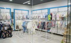 Торговое оборудование детского магазина Ивбеби Москва ТЦ Улей РАДУГА Фото 08