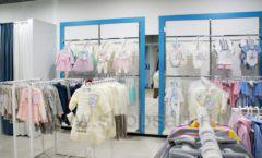 Торговое оборудование детского магазина Ивбеби Москва ТЦ Улей РАДУГА Фото 11