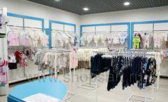 Торговое оборудование детского магазина Ивбеби Москва ТЦ Улей РАДУГА Фото 13