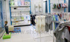 Торговое оборудование детского магазина Ивбеби Москва ТЦ Улей РАДУГА Фото 14