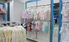 Торговое оборудование детского магазина Ивбеби Москва ТЦ Улей РАДУГА Фото 15