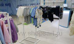 Торговое оборудование детского магазина Ивбеби Москва ТЦ Улей РАДУГА Фото 23