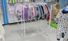 Торговое оборудование детского магазина Ивбеби Москва ТЦ Улей РАДУГА Фото 24