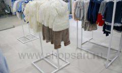 Торговое оборудование детского магазина Ивбеби Москва ТЦ Улей РАДУГА Фото 26