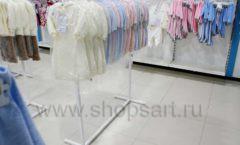 Торговое оборудование детского магазина Ивбеби Москва ТЦ Улей РАДУГА Фото 29