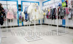 Торговое оборудование детского магазина Ивбеби Москва ТЦ Улей РАДУГА Фото 32