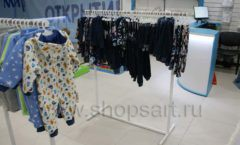 Торговое оборудование детского магазина Ивбеби Москва ТЦ Улей РАДУГА Фото 35