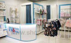 Торговое оборудование детского магазина Ивбеби Москва ТЦ Улей РАДУГА Фото 47