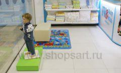Торговое оборудование детского магазина Ивбеби Москва ТЦ Улей РАДУГА Фото 51
