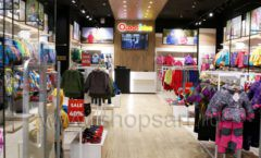 Торговое оборудование детского сетевого магазина OLDOS KIDS ТРК Красный Кит РАДУГА Фото 01