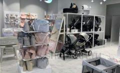 Торговое оборудование детского магазина Dear Baby Москва ТРЦ Ривьера БЕЛАЯ КЛАССИКА Фото 04