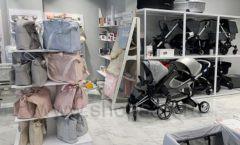 Торговое оборудование детского магазина Dear Baby Москва ТРЦ Ривьера БЕЛАЯ КЛАССИКА Фото 06