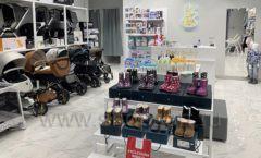 Торговое оборудование детского магазина Dear Baby Москва ТРЦ Ривьера БЕЛАЯ КЛАССИКА Фото 07