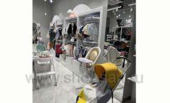 Торговое оборудование детского магазина Dear Baby Москва ТРЦ Ривьера БЕЛАЯ КЛАССИКА Фото 12