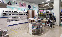 Торговое оборудование детского магазина Kapika Санкт-Петербург РАДУГА Фото 04