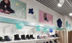 Торговое оборудование детского магазина Kapika Санкт-Петербург РАДУГА Фото 10