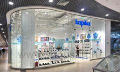 Торговое оборудование магазина обуви Kapika СТИЛЬ ЛОФТ Фото 02