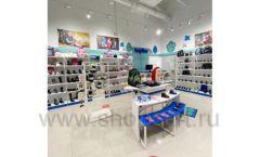 Торговое оборудование магазина обуви Kapika СТИЛЬ ЛОФТ Фото 04