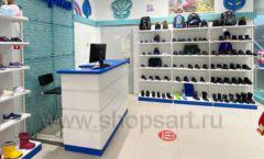 Торговое оборудование магазина обуви Kapika СТИЛЬ ЛОФТ Фото 12