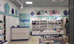 Торговое оборудование магазина обуви Kapika Санкт-Петербург СТИЛЬ ЛОФТ Фото 05