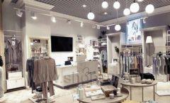 Торговое оборудование магазина домашней одежды Дюма КЛАССИЧЕСКИЙ ЛОФТ Фото 05