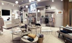 Торговое оборудование магазина домашней одежды Дюма КЛАССИЧЕСКИЙ ЛОФТ Фото 10