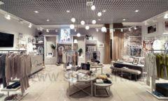 Торговое оборудование магазина домашней одежды Дюма КЛАССИЧЕСКИЙ ЛОФТ Фото 12