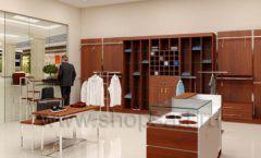 Дизайн интерьера магазина мужской одежды торговое оборудование МУЖСКОЙ СТИЛЬ Дизайн 03