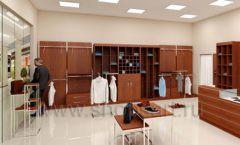 Дизайн интерьера магазина мужской одежды торговое оборудование МУЖСКОЙ СТИЛЬ Дизайн 06