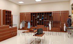 Дизайн интерьера магазина мужской одежды торговое оборудование МУЖСКОЙ СТИЛЬ Дизайн 08