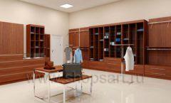Дизайн интерьера магазина мужской одежды торговое оборудование МУЖСКОЙ СТИЛЬ Дизайн 12