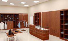 Дизайн интерьера магазина мужской одежды торговое оборудование МУЖСКОЙ СТИЛЬ Дизайн 14