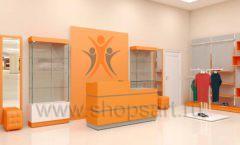 Дизайн интерьера магазина спортивной одежды торговое оборудование АТЛАНТ Дизайн 11