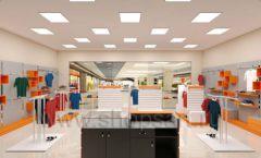 Дизайн интерьера магазина спортивной одежды торговое оборудование АТЛАНТ Дизайн 17