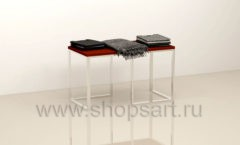 Стол для магазина одежды торговое оборудование МУЖСКОЙ СТИЛЬ