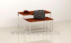 Столы для магазина одежды комплект торговое оборудование МУЖСКОЙ СТИЛЬ