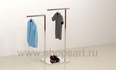 Торговая стойка для магазина одежды торговое оборудование МУЖСКОЙ СТИЛЬ