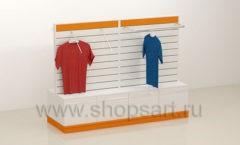 Торговый остров для одежды торговое оборудование АТЛАНТ
