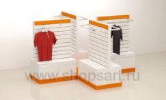 Торговое оборудование для магазина одежды коллекция АТЛАНТ