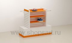 Торговый остров для одежды и обуви торговое оборудование АТЛАНТ