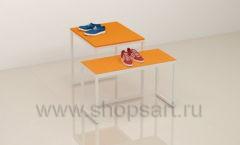 Столы для магазина одежды торговое оборудование АТЛАНТ